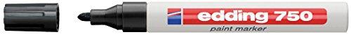 Edding 750 Paintmarker schwarz Kunststoffspitze 2-4mm Strichbreite