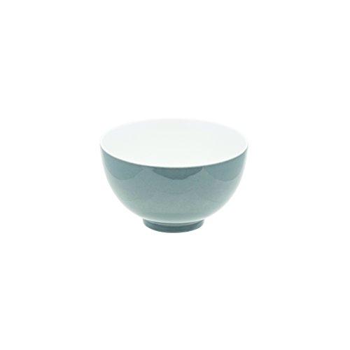 DEGRENNE - Modulo Color lot de 6 bols à déjeuner 14 cm , grès de porcelaine - Gris perle