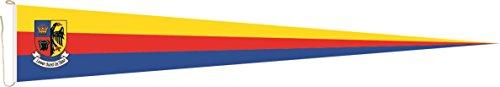 U24 Langwimpel Nordfriesland Fahne Flagge Wimpel 200 x 40 cm Premiumqualität