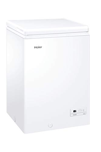 Haier HCE103F, Congelatore a pozzetto, 100 Litri,...