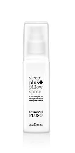 This Works Sleep Plus + Kissenspray - Kissenspray zum Einschlafen, 1er Pack (1 x 0.075 kg)