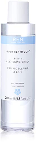 REN Rosa Centifolia 3-in-1 Cleansing Water, Reinigungswasser, 200 ml