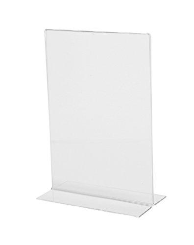 Sigel - Atril de mesa, (acrílico, A5, base plana, 1,8 mm), transparente