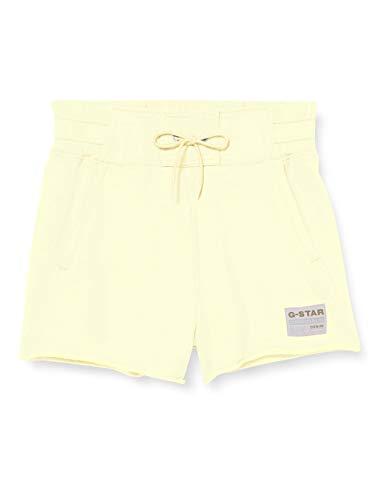 G-STAR RAW Womens High Waist Shorts, lumi Green C332-2680, Medium