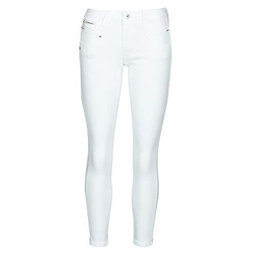 Freeman T. Porter Alexa Cropped Super Stretch Denim White blanco S