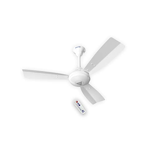 Superfan Super J1 White 900 mm Ceiling fan with BLDC Motor and Remote Controlled