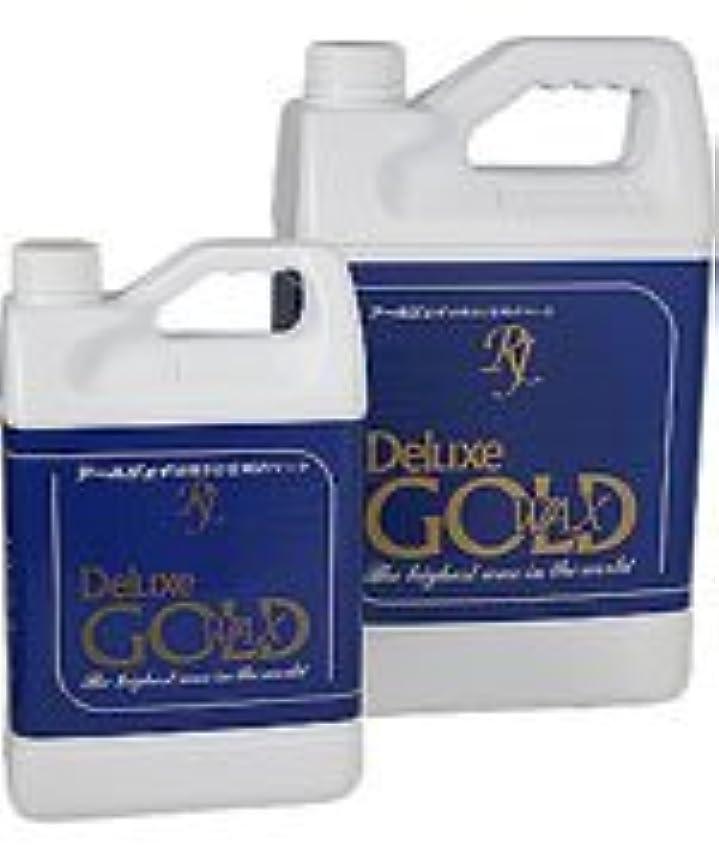 スラダム寛大さ劣る高濃度床用樹脂ワックス「デラックスゴールド」 5L