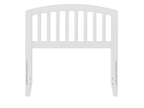 Atlantic Furniture Richmond Headboard, Twin, White,AR288822