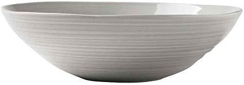 LJW Bowl Snack Snack Dip Bowls Dishware Soup Bowl, simple europea de cerámica europea de cerámica fruta y vegetal Cuenco de la ensalada de cuenco de tazón de fuente de cuenco para creative Home Kitche