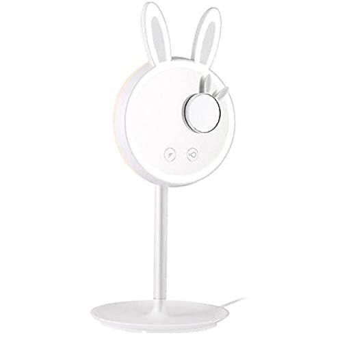AWJ Lámparas Luz de Estudio Lámpara de Mesa Lámpara de Escritorio Lámpara de Lectura Novedad Conejo Conejito Belleza Protección de Ojos Maquillaje Espejo Lámpara de Mesa Luz de Espejo Regulable