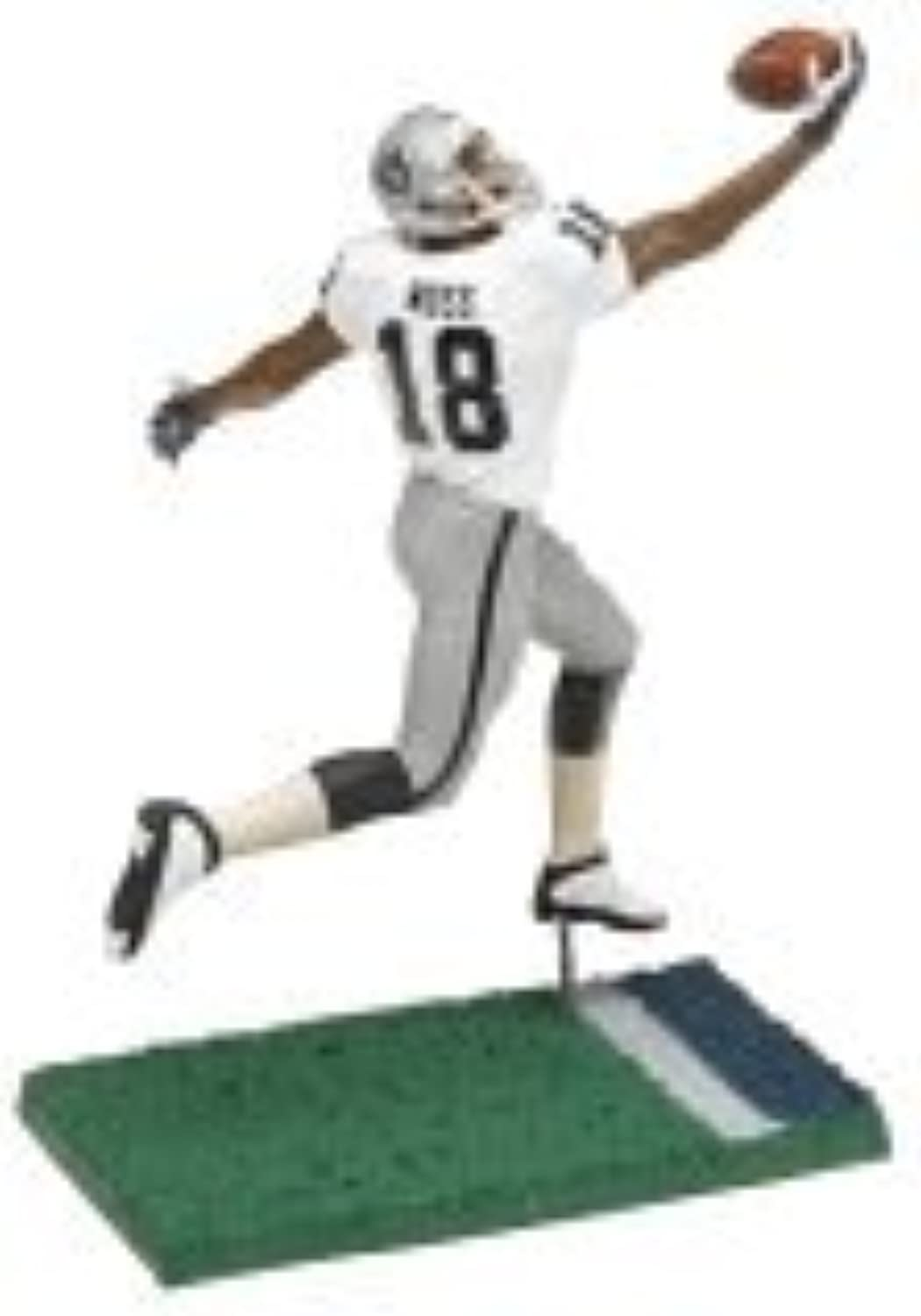 Toys Nfl Series 11 Figure  Draft Pick  Randy Moss, Oakland Raiders White Jersey