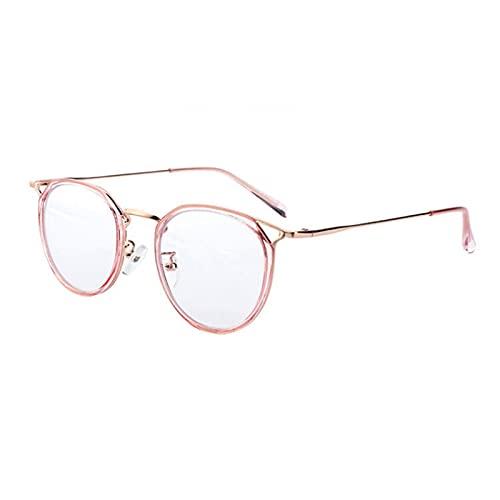 Xingang Gafas de bloqueo de luz azul lindo anti ojo tensión moda marco de metal gafas para lectura juego computadora