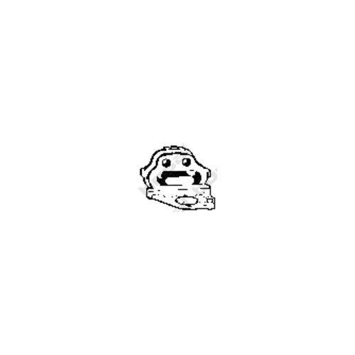 Bosal 255-203 Butée élastique, silencieux