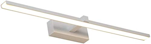 WEM Home Dekorative Spiegelleuchten, Led-Spiegelscheinwerfer, Badezimmer Spiegelschrank Make-Up Lampen Wandleuchte Einfache Spiegelscheinwerfer,Warm White Light 40Cm / 8W