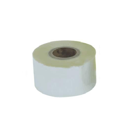 CGOLDENWALL 1 Rolle Folie Papier Rolle Verpackungsmaterialien für automatische Teebeutelmaschine Gewicht und Füllung Verpackungsmaschine Messung Verpackungsmaschine (transparente Verbundfolie)