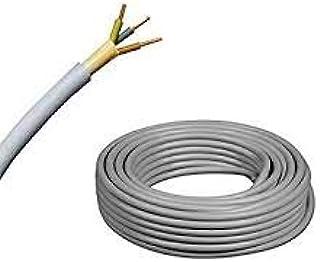 Elektro Kabel Mantelleitung NYM-J   50m Ring, adriges Installationskabel (3x1,5 50m)