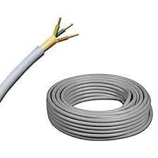 Elektro Kabel Mantelleitung NYM-J | 50m Ring, adriges Installationskabel (3x1,5 50m)