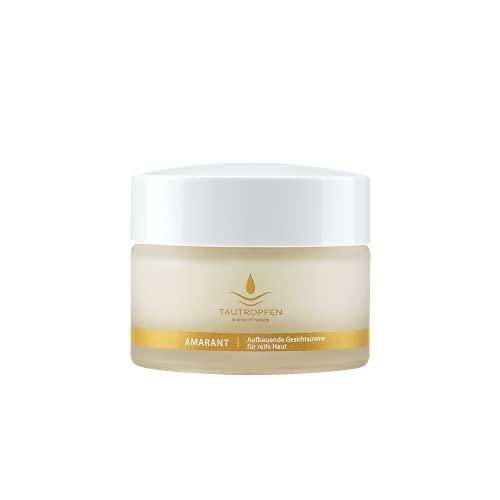 TAUTROPFEN Naturkosmetik, Amaranth Anti Age, Aufbauende Gesichtscreme für anspruchsvolle Haut, 50 ml
