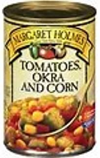 Margaret Holmes Tomatoes, Okra & Corn (Pack of 3) 14.5 oz Cans
