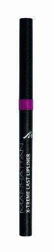 Manhattan X-Treme Last herausdrehbarer Lipliner – Intensive Farbe & definierter Halt – Farbe Shimmer Berry 56S – 1 x 0,2g