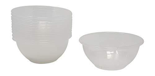 Copas para helado o macedonia de diámetro de 11,5 cm, color transparente,...