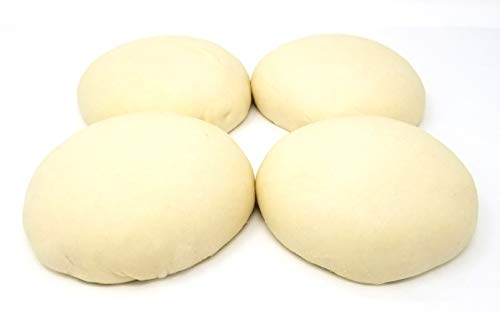 Fresh Made New York City Pizza Dough. 1 and a Quarter Pound Each - 10 Pack - All Natural Ingredients