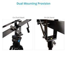 PROAIM Astra Professional Mini Camera Jib Arm for DSLR Video Film Camera | Heavy-duty yet Lightweight, Best Travel/Indoor/Outdoor Aluminum Crane with LCD Arm + Bag (JB-AS04-00, 4ft)