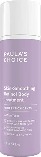 Paula's Choice Retinol Body Lotion - Firming & Hydrating Anti Aging Body Cream - for Smooth & Radiant Skin - with Shea Butter & Evening Primrose Oil - All Skin Types - 118 ml