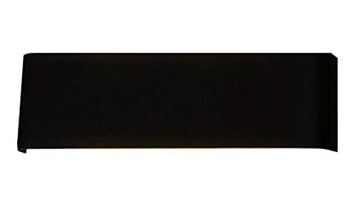 LED Aluminium Badezimmerspiegel Scheinwerfer, Schminktisch Make up Wandleuchte, Up und Down Illuminate Spiegelschrank Studie Schreibtisch Wandbeleuchtung, einfache Feuchtigkeitsbeständigkeit-black-31
