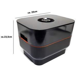 Jägermeister Flaschenkühler Eiskübel Eisbox Kühlbox Mehrteilig mit Eisfach