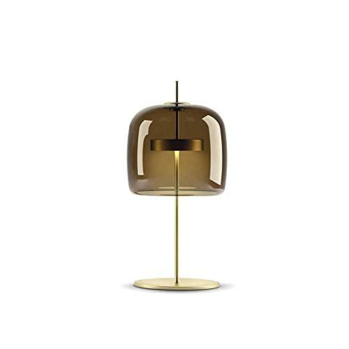 Nordic Modern LED Lámparas de escritorio Library Simple Biblioteca Sala de estar Dormitorio Escritorio de la cama Luces Diseñador creativo Lámparas de mesa de cristal Lámpara de decoración-26660i4y3h