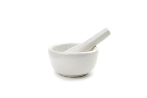 Fox Run 6240 Porcelain Mortar amp Pestle White