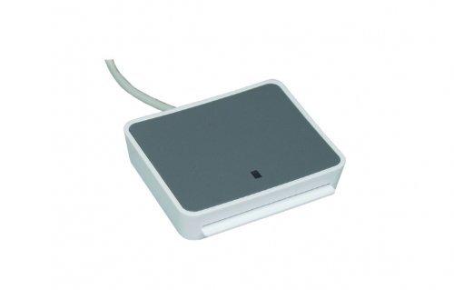 SCR uTrust 2700 F Smart Card Leser - ideal für OnlineBanking / sichere Zugang zu Netzwerken und PCs / Sozialversicherungs- und Treueprogramme / Flashbar / für DATEV Applikationen / Nachfolger des 3310
