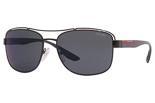 Prada Sport - Gafas de sol unisex para adulto PS 57VS Negro 3 Años