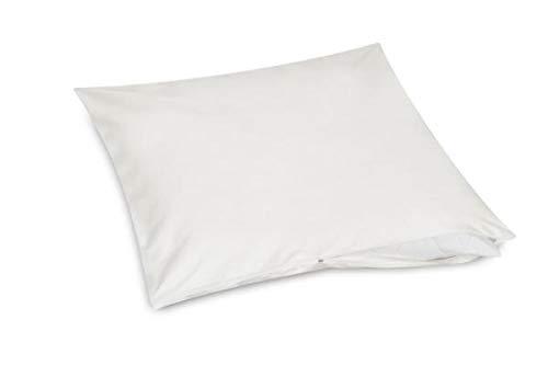 Funda de almohada Allsaneo prémium, 70 x 90 cm, para alérgicos, extra suave y ligera, antiácaros, funda intermedia para almohada extra suave