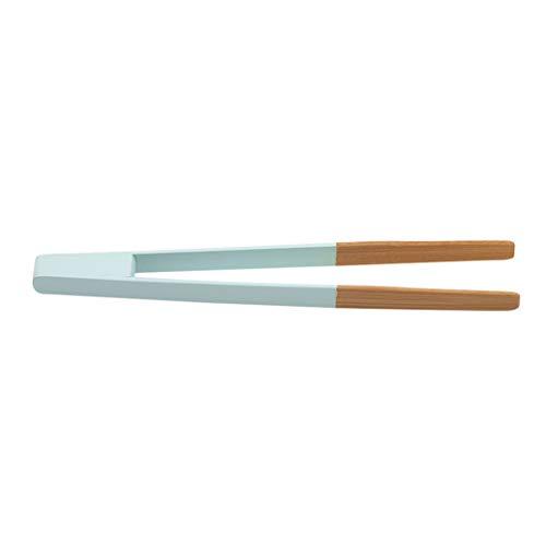 JKLBNM Holz-Bambuszangen Toastzangen Bambus-Küchenzangen für Kochtee Utensilien-Zucker-Bambus-Salatz-Zangen Kongfu-Tee Holz-Tee-Clip Lebensmittel-Tee-Pinzette Küchenwerkzeug,Grün