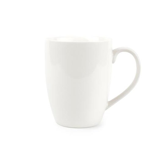 Nurso Kaffeebecher aus Porzellan Fine Bone China 380 ml 6er Set