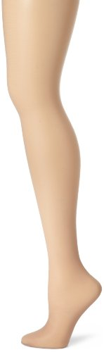 Hanes Women's Control Top Sheer Toe Silk Reflections Panty Hose, Soft Taupe, A/A/B