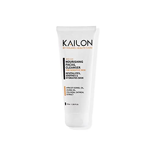 Kailon Nourishing Facial Cleanser for Sensitive Skin | Smoothens and Softens the Skin Texture | Soothes the Irritated Skin | 100 ML