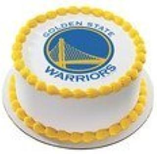 Golden State Warriors Licensed Edible Cake Topper #3696