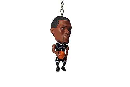 Generisch Basketballspieler Kevin Durant Schlüsselanhänger schwarzes Trikot | Basketball Schlüsselanhänger/Keychain NBA