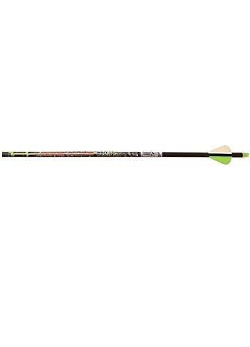 Carbon Express 50888 Adrenaline 350 6-Pk Arrows,Black