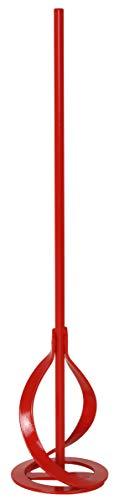 Connex Rondenrührer - Ø 80 x 400 mm - Sechskant-Schaft - Geeignet für Wand- & Deckenfarben - Mischgut bis 15 kg - Für 10 mm Bohrfutter / Farbrührer / Rührquirl / Rührkorb / COX781257