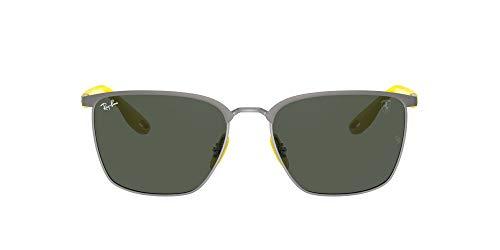 Ray-Ban 0RB3673M Gafas, MATTE GUNMETAL ON GUNMETAL, 56 Unisex
