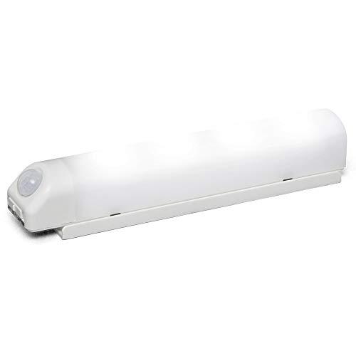 アイリスオーヤマ LEDセンサーライト 乾電池式 人感センサー付 ウォールタイプ BSL40WN-WV2