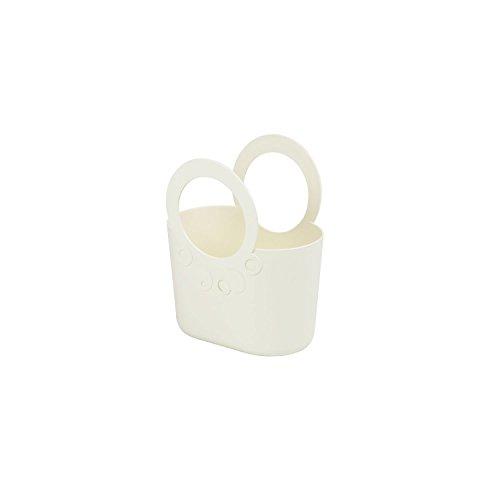 Flexi Sac fourre-Tout Shopping Plage Panier Lily, crème 16 cm de Large