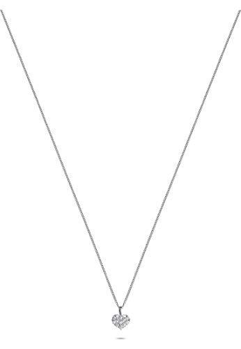 CHRIST Diamonds Damen-Kette 585er Weißgold 13 Diamant One Size 87770711