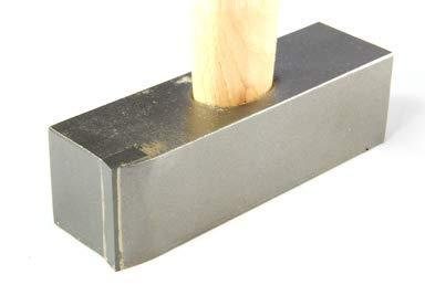 Martillo basculante para zurdos, 1 placa HM (1,5 kg)