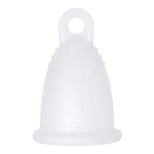 MeLuna Classic Copa Menstrual, Anillo, Transparente, Talla XL - 1 Unidad