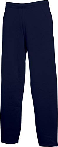 Fruit of the Loom Classic Open Leg Jog Pants marine,XL